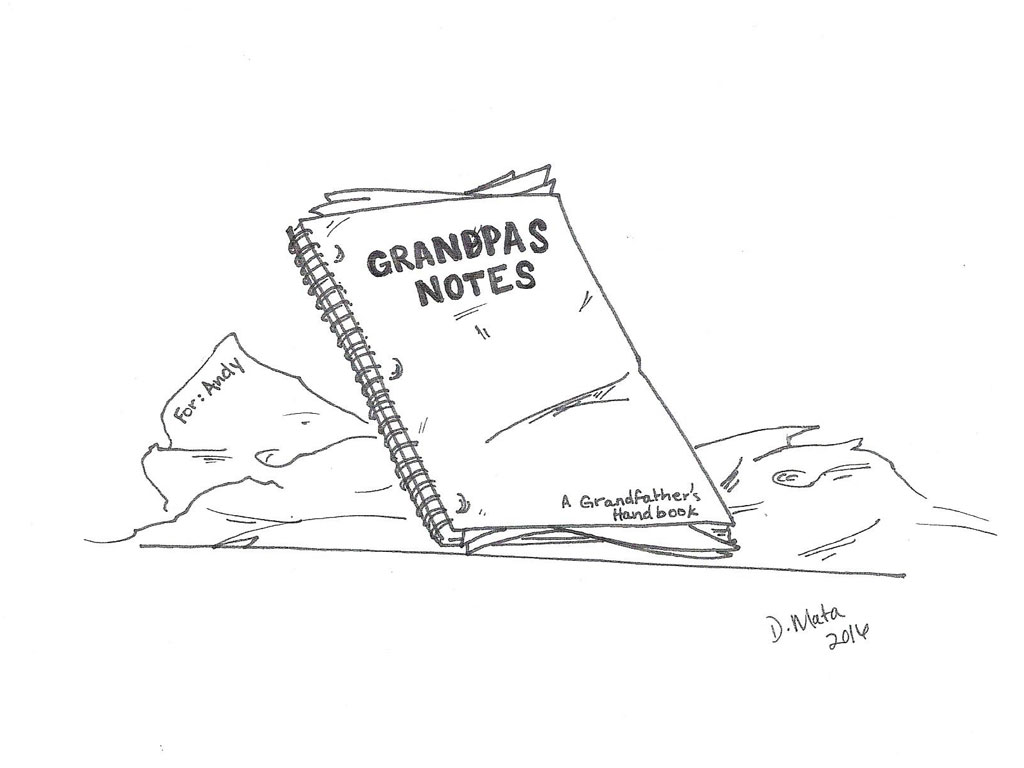 Grandpa and Andy Chapter 6: The Grandfather's Notebook
